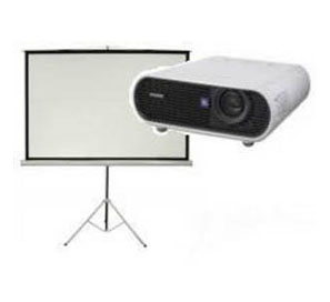 Data Projector & Screen Hire